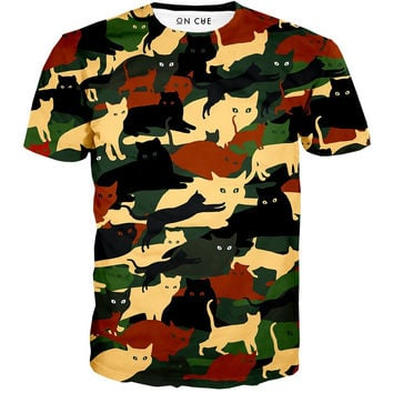 Cat O Flage T-Shirt