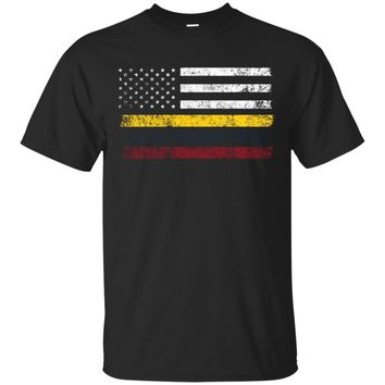 Colombian American Flag - USA Colombia Shirt_Black