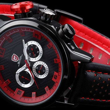 "Mens Speed Racing Exotic Luxury Watch ""Turbo"""