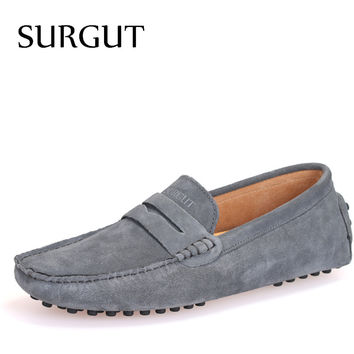 Men's Summer Styles Soft Leather Moccasin Loafers