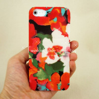 Original Handmade Flower Printed Fabric Phone Case
