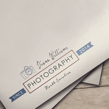 Photography Logo,Photography Logo Design,Logo, Camera Logo, Watermark Logo, Instant download logo psd file template