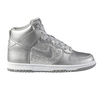 Womens Nike Dunk High Athletic Shoe, SilverWhite  Journeys Shoes