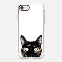 Peeking Cat iPhone 7 Case by Nicklas Gustafsson | Casetify