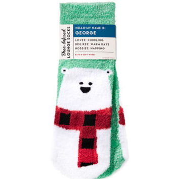GEORGE THE POLAR BEARShea-Infused Lounge Socks