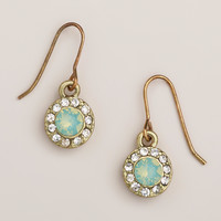 Pacific Opal Stone Drop Earrings - World Market