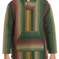 The Outland Poncho Hoodie in Multi