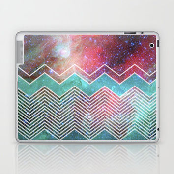 Chevron Galaxy Laptop & iPad Skin by Belle13