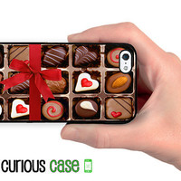 iPhone 5 Case iPhone Case Chocolate Box Sweetheart Candy  / Hard Case For iPhone5