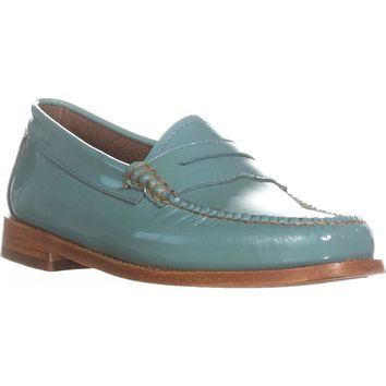 Weejuns G.H. Bass & Co. Whitney Penny Loafers, Sky Blue, 6 US