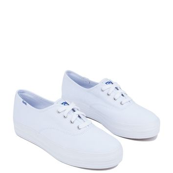 KEDS TRIPLE CANVAS FLATFORM SNEAKER - What's New