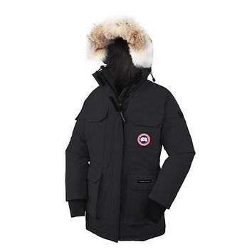 canada goose Women's Expedition black/red/beige