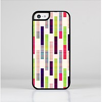 The Colorful Abstract Plaided Stripes Skin-Sert Case for the Apple iPhone 5c