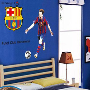 Old Passenger _ 3d Wall Stickers The Football Star Environmental Removable Stickers Wall Stickers For Kids Rooms Home Decor