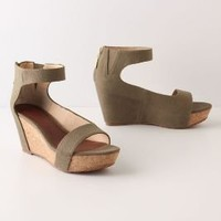Canvassed Cork Wedges - Anthropologie.com