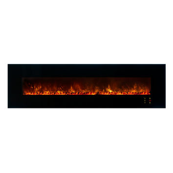 "Modern Flames 100"" Built in / Wall Mounted Electric Fireplace (AL100CLX2)"