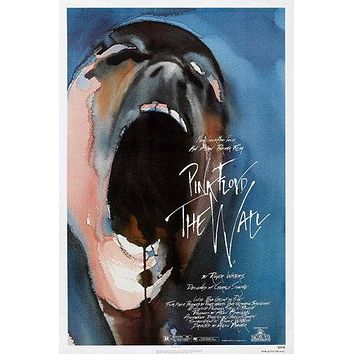 Pink Floyd The Wall Poster//Pink Floyd The Wall Movie Poster//Movie Poster//Poster Reprint
