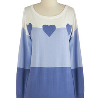 Sugarhill Boutique Mid-length Long Sleeve Cool Love Sweater