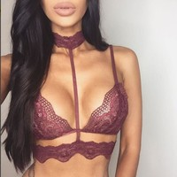Hot Deal On Sale Sexy Cute Winter Hot Sale Lace Hollow Out Underwear Exotic Lingerie [9039776195]