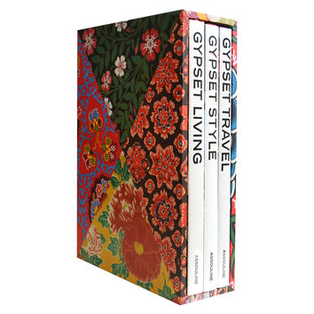 Assouline, Gypset Trilogy Slipcase Set, Coffee Table Books: Travel