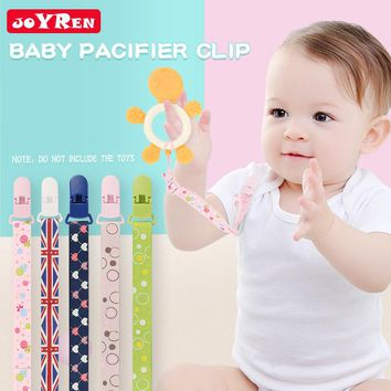 Pacifier Clip Adjustable Baby Pacifier Holder Teething Ring Holder for Boys and Girls Universal Fit