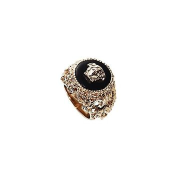 "Versace - Round ""Barocco"" Ring"