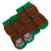 Top Paw™ Pet Holiday Stripe Socks