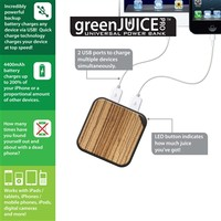 Triple C Designs greenJUICE Pro Universal Power Bank