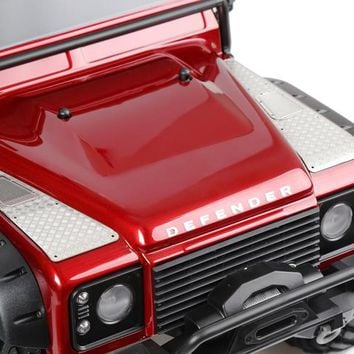 1/10 Rc Car Parts TRAXXAS TRX - 4 TRX4 machine cover metal checkered plate metal intake grille a sheet metal cover