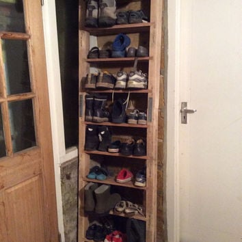 Rustic Shoe Ladder made from reclaimed pallet wood