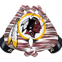 Nike Vapor Jet 3.0 On-Field (NFL Redskins) Men's Football Gloves