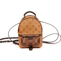 "Louis Vuitton Palm Springs Pm Reverse Monogram Rare L22 Leather Backpack ""NWT"" (Authentic Pre-owned)"