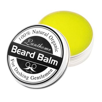 Beard Conditioner Leave Moisturizing Effect Beard Care New Lanthome Natural Men Beard Hair Wax Balm MISS ROSE 25g