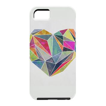 Mareike Boehmer Heart Graphic 5 X Cell Phone Case
