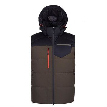 Puffer Autumn Winter Bodywarmer Outdoors Waistcoat Ultralight Water Resistant Duck Down Vest Men Casual Hoodie Sleeveless Gilet