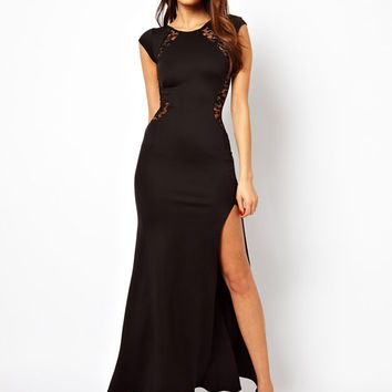 Graceful Sexy Lace Slim Split Dress &Party Dress