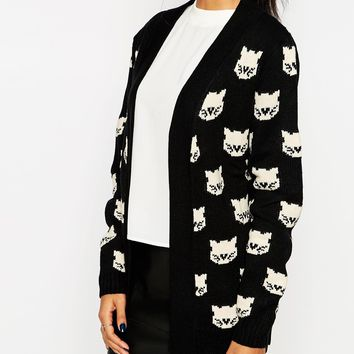 Sugarhill Boutique Top Cat Cardigan