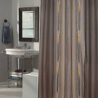 Royal Bath Extra Long Water Repellant Fabric Shower Curtain Liner - Catherine