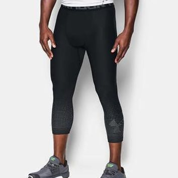 "Under Armour Men's UA HeatGear Armour Graphic Compression 3/4"" Leggings"