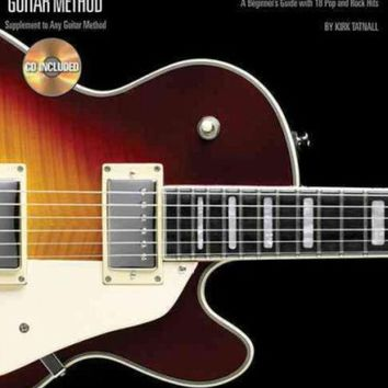 DCCKB62 Barre Chords: A Beginner's Guide With 18 Pop and Rock Hits (Hal Leonard Guitar Method)