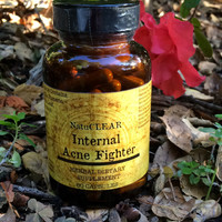 100% Organic Acne Product Internal Acne Fighter - Acne Vitamins - Natural Acne Treatment - Cure Acne Now!