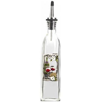 Color Art Oil Bottle By Ganz  Wine amp Cheese