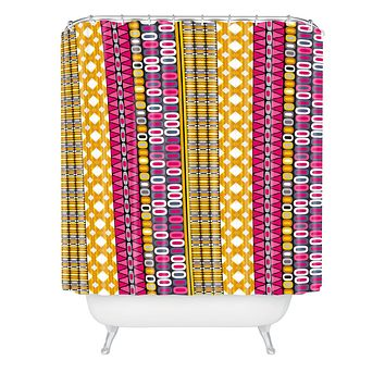 Sharon Turner Delineation Shower Curtain