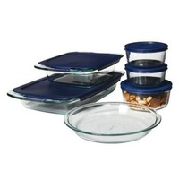 Pyrex Easy Grab 11 piece Bake N Store Set