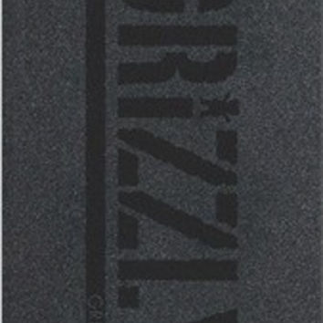 Grizzly Single Sheet Stamp Black/Black Griptape