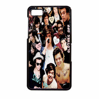 Harry Styles One Direction Collage Clothes Off BlackBerry Z10 Case
