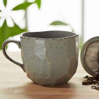 Boulder Faceted Mug