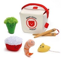 Takeout Plush Playset