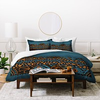 Viviana Gonzalez Textures Abstract 13 Duvet Cover
