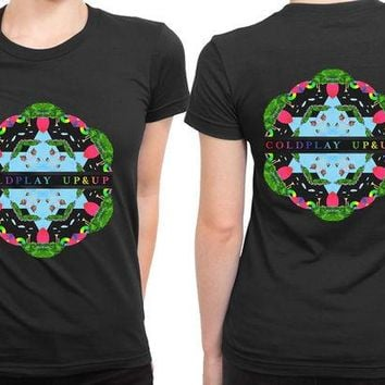 VONEED6 Coldplay Up And Up Cover 2 Sided Womens T Shirt